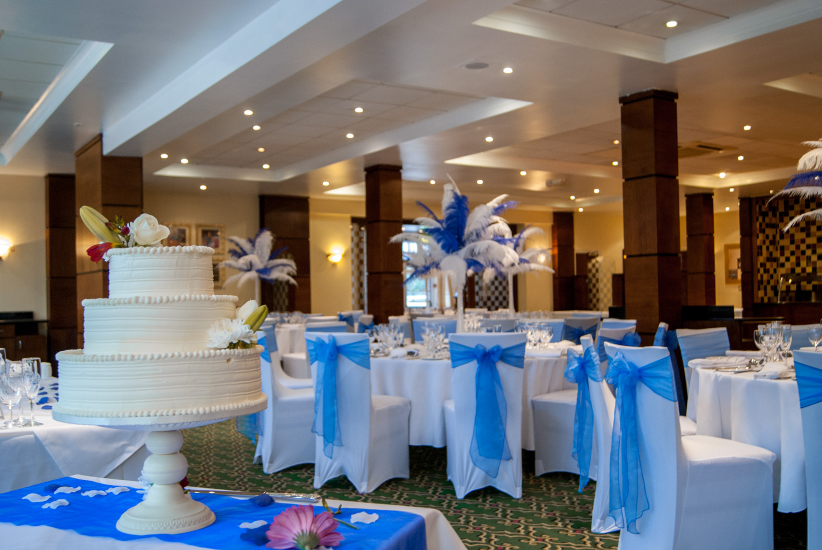 Wedding at the hotel royale Bournemouth