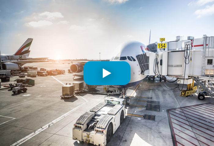 plane video still