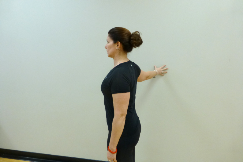chest wall stretch