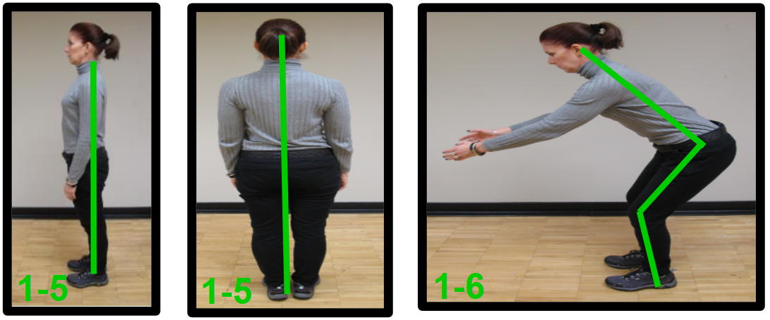 good lower back posture