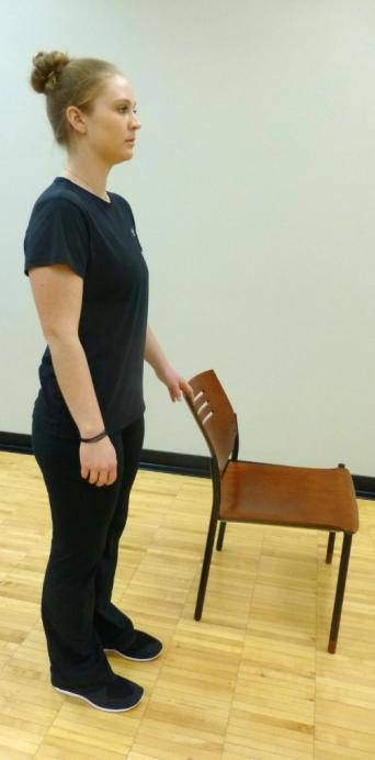 single leg balance exercise