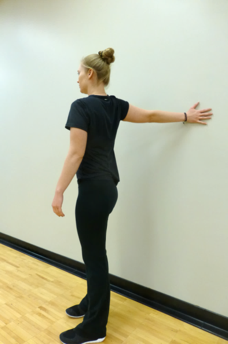 wall stretch