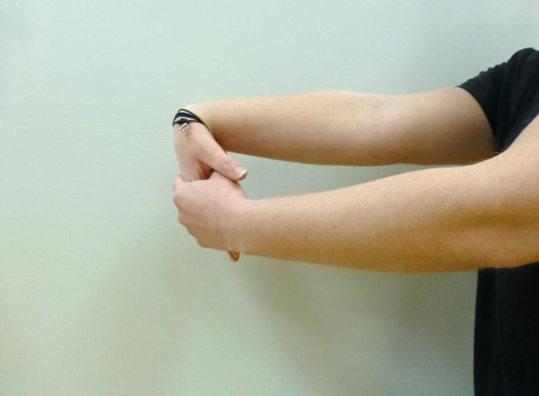 wrist flexion stretch