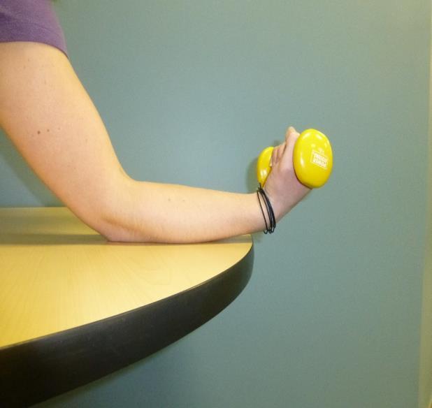 wrist flexion exercise