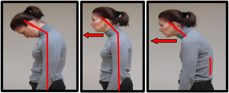 neck postures to not do