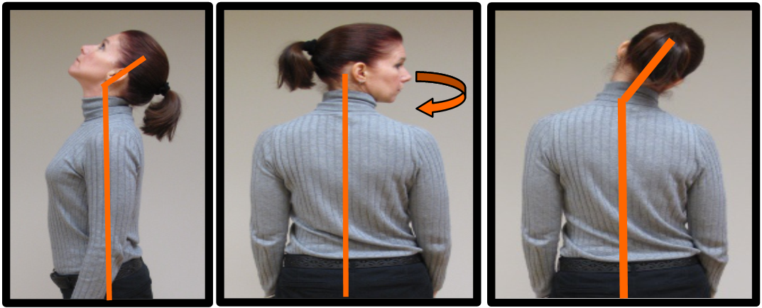 neck postures to avoid