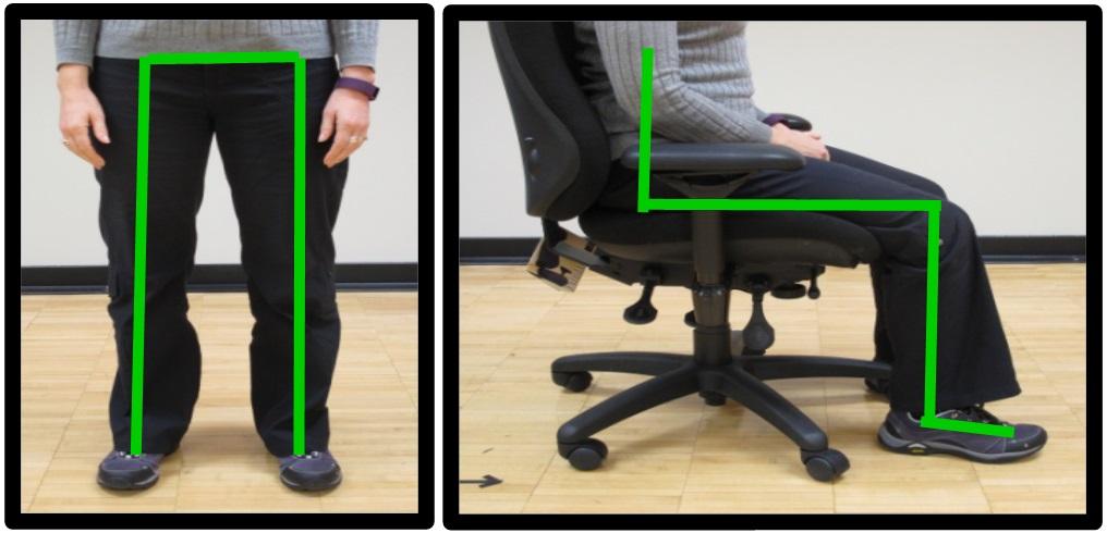 good hip posture