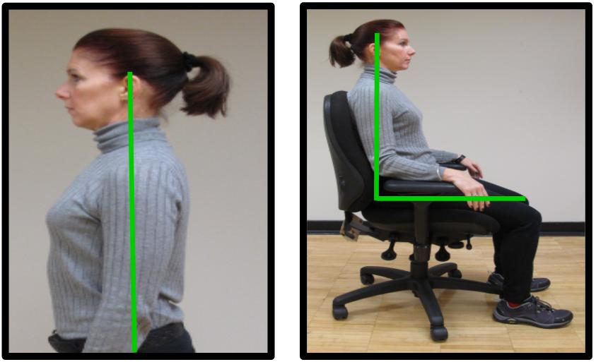 good chest posture