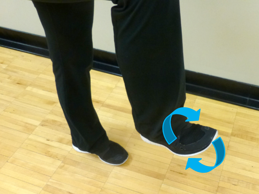 ankle circle stretch