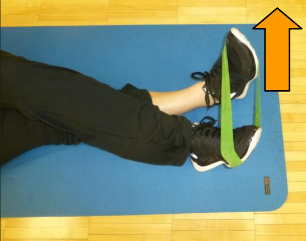 inversion theraband exercise