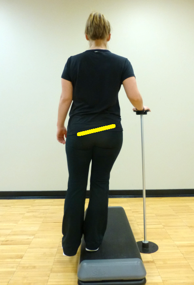 hip hike exercise