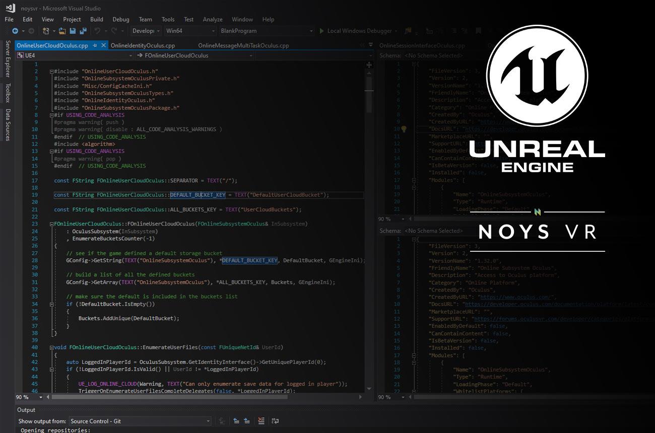 NOYS VR - Careers - Unreal Engine/C++ Developer
