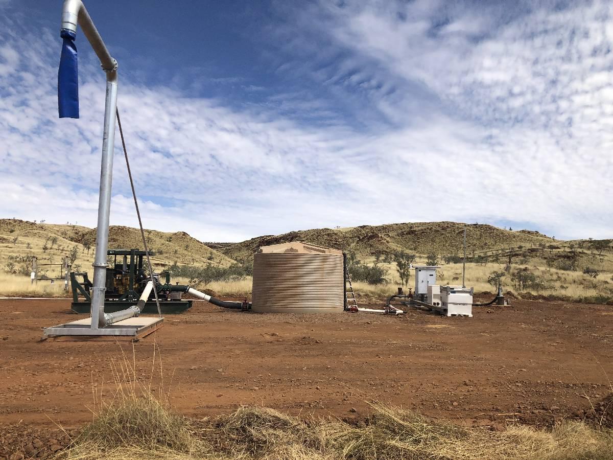 ATLAS IRON : Corunna Downs Water Supply Project