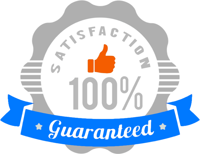 Satisfaction Guarantee on our window cleaning service