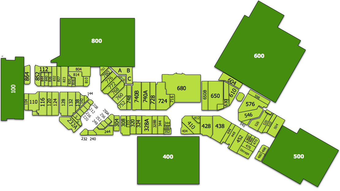 Mall map of Virginia Center Commons