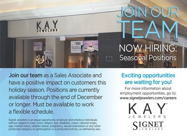 Kay Jewelers store exterior and application information