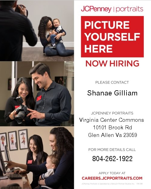 People taking photos information for jobs with JCPenney Portraits