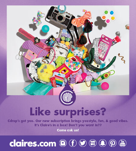 Cdrops subscription poster