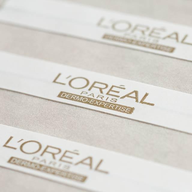 Preprinted EM Label, Brand