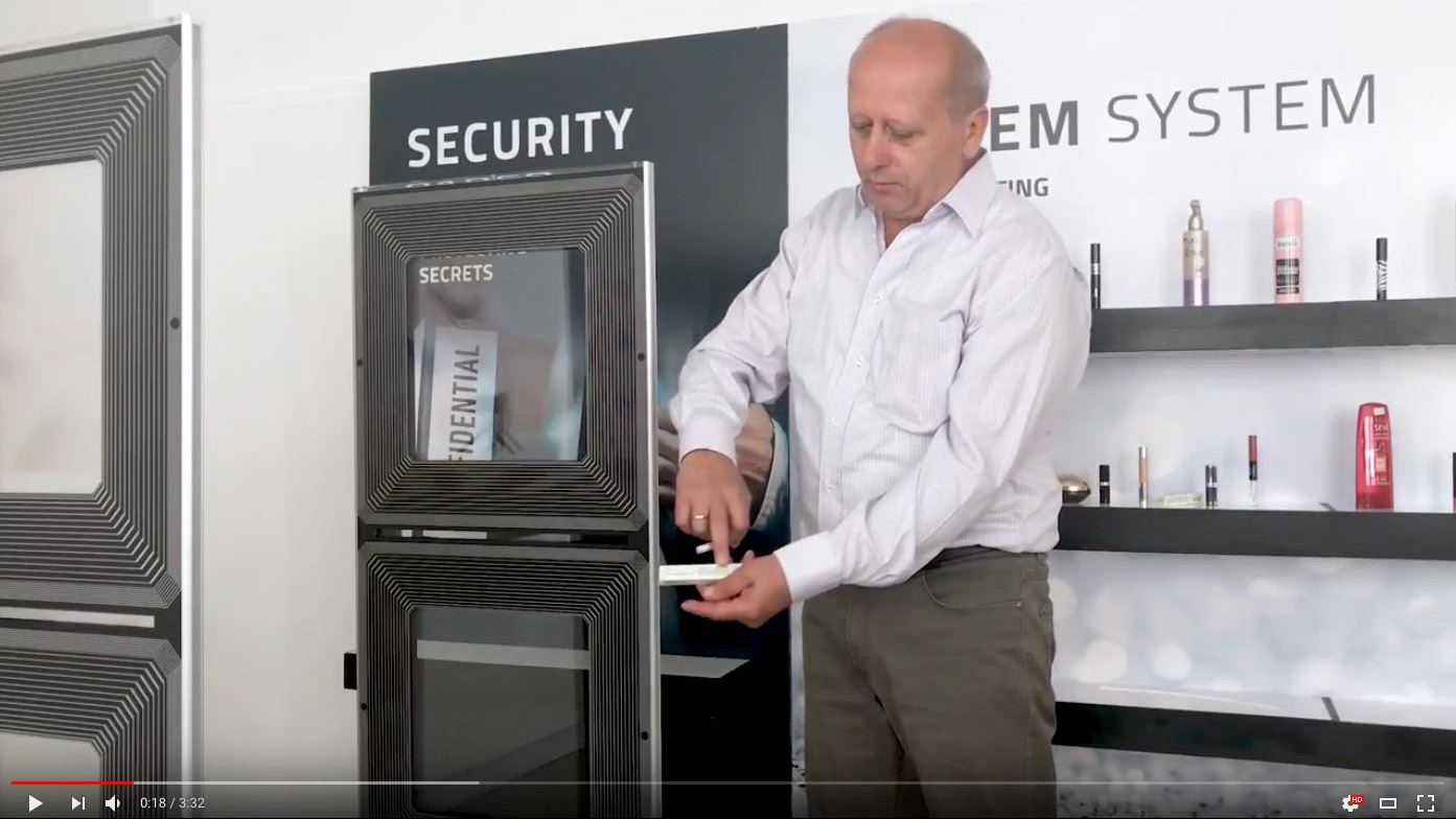 Test detection of Tagit EM systems in retail environments