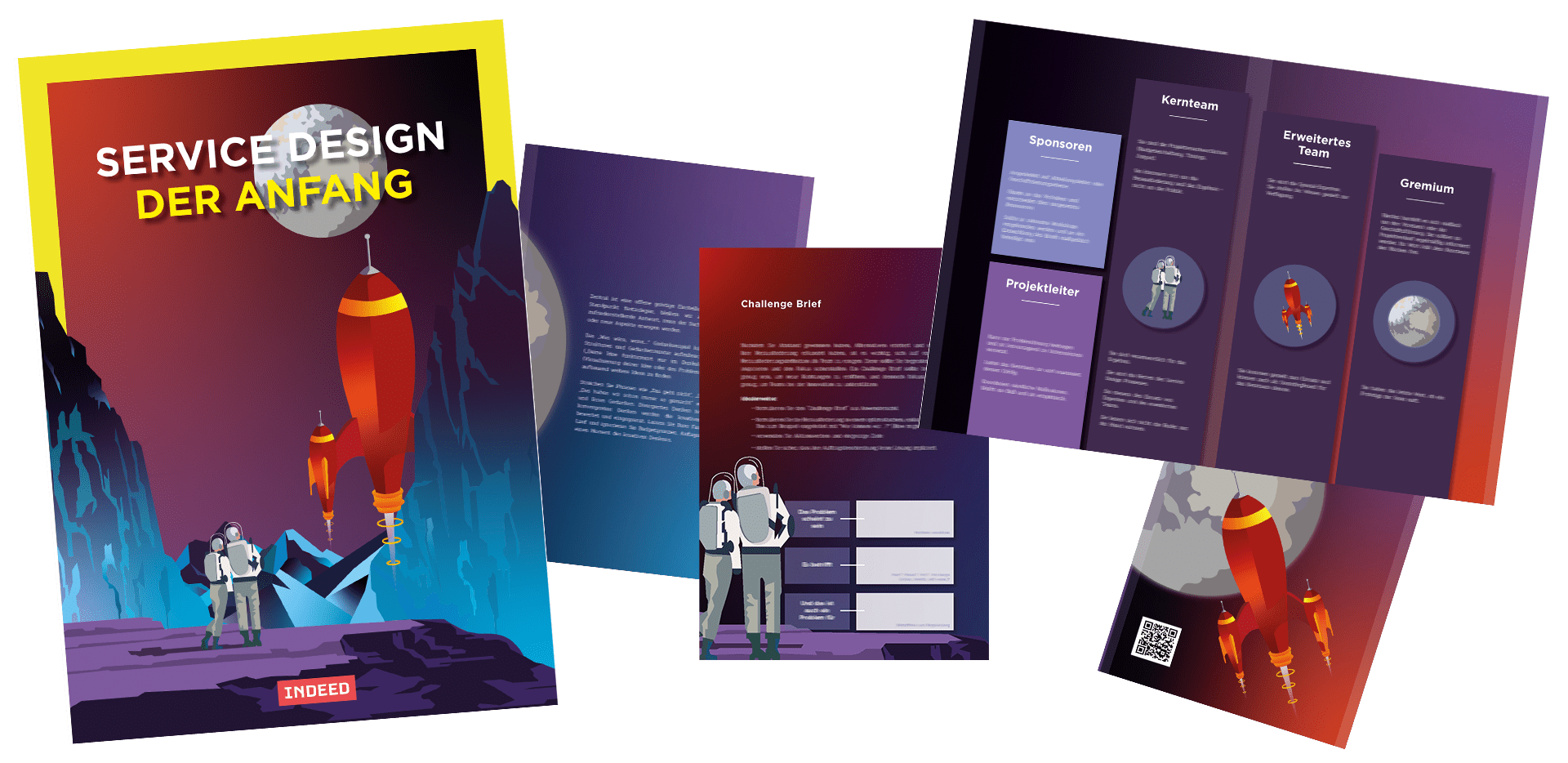 Service Design Whitepaper von INDEED Innovation Vol.2