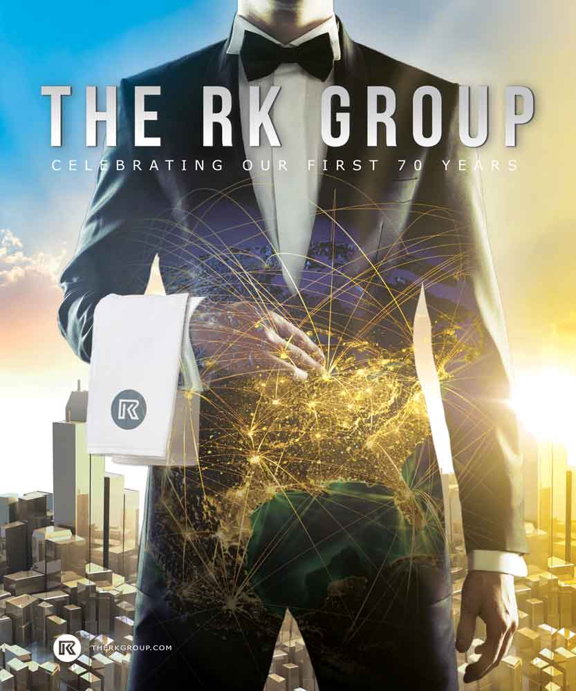 RK Group Celebrating 70 Years Magazine Cover