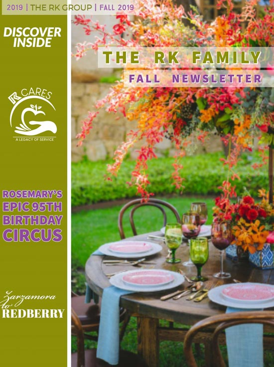 RK Group Family Newsletter Fall 2019