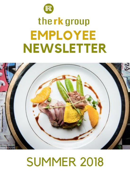RK Group Employee Newsletter Summer 2018