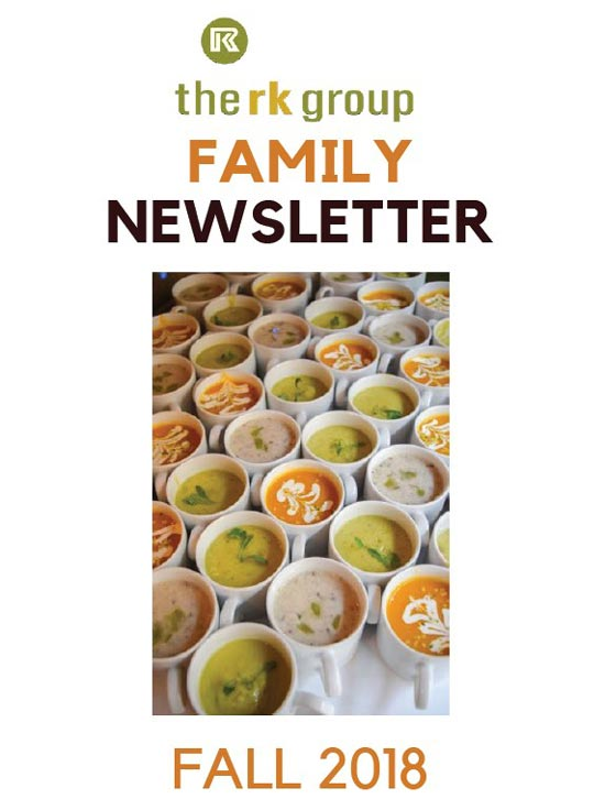 RK Group Family Newsletter Fall 2018