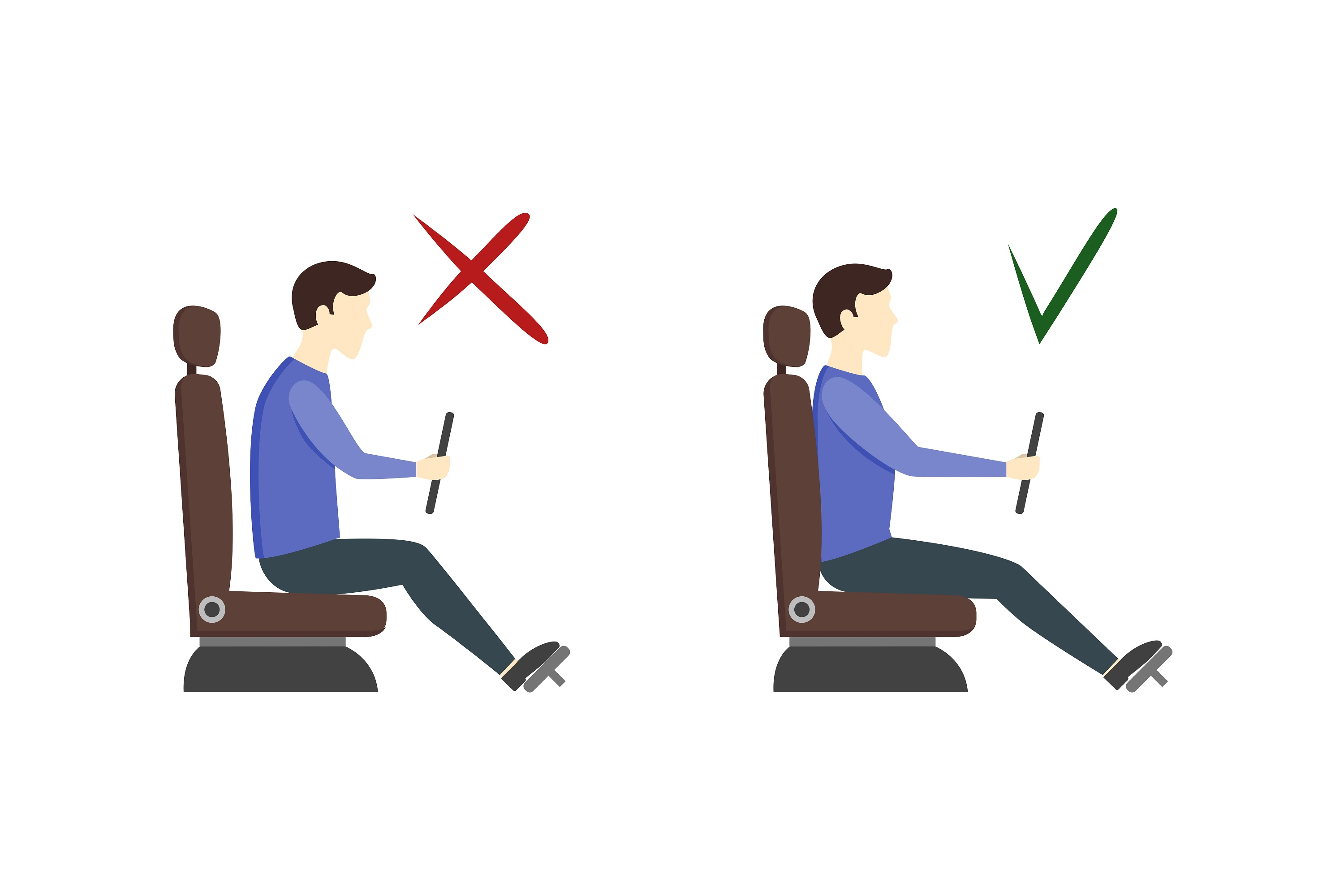 do and do not posture for truck drivers