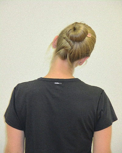 head flextion exercise from behind