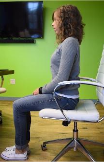 proper chair posture