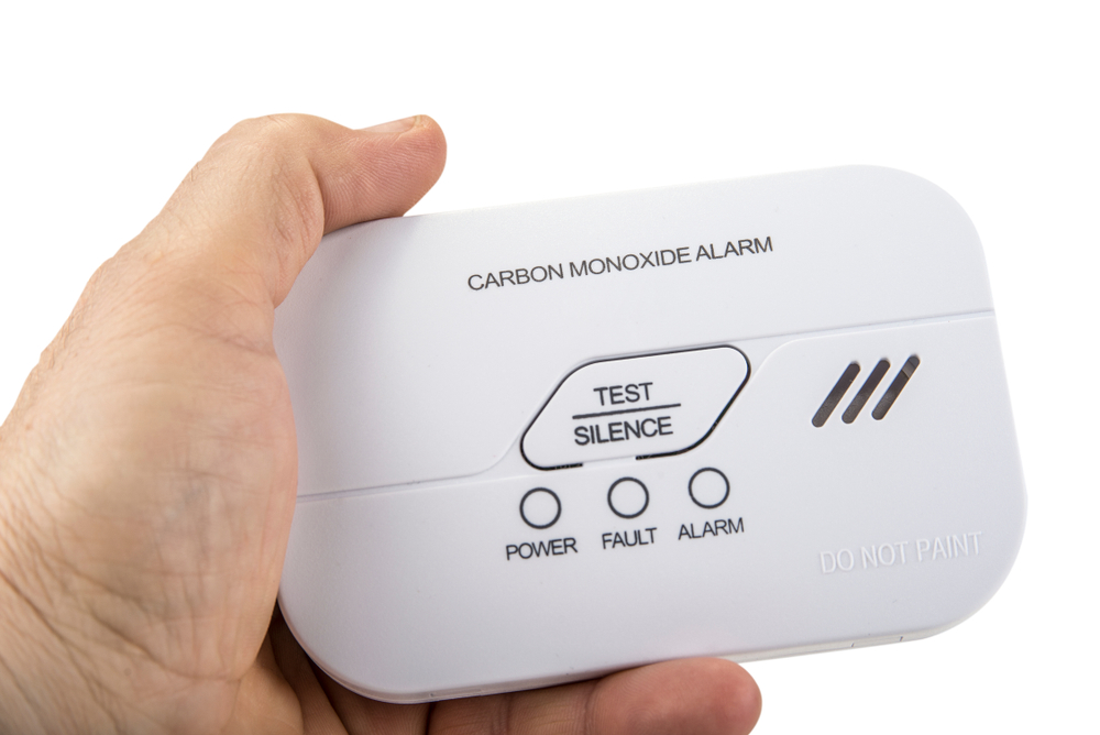 Carbon monoxide alarm for safe sleep