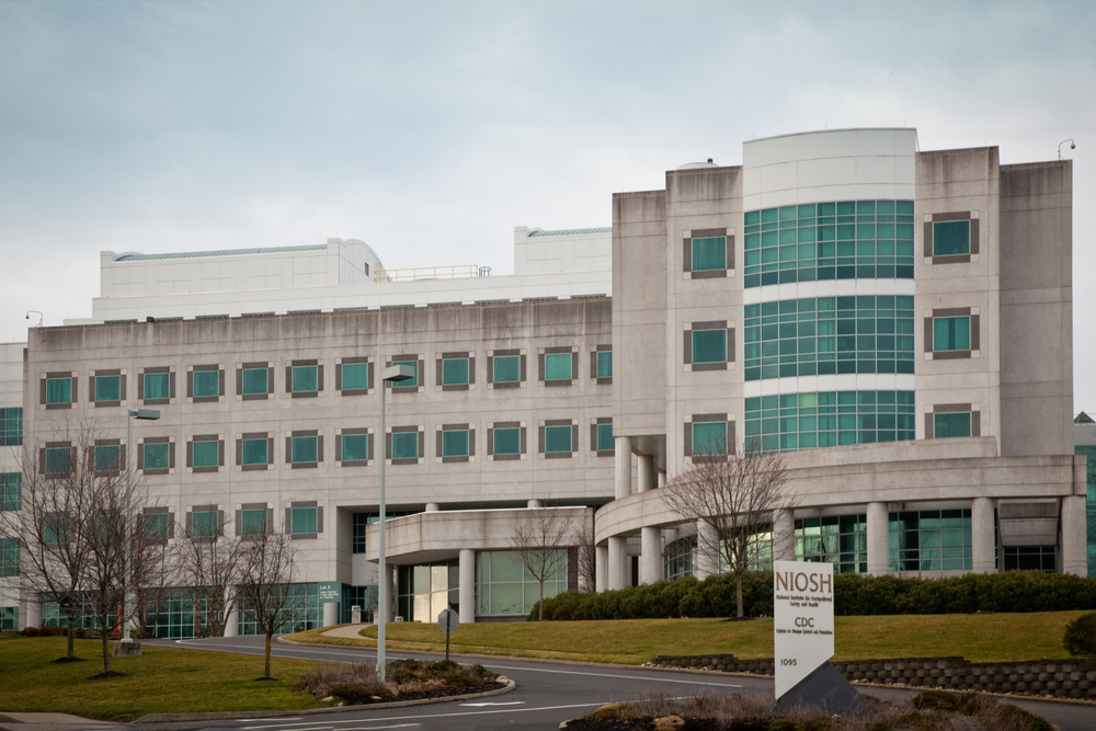 National Institute for Occupational Safety and Health (NIOSH) building in Morgantown, WV.