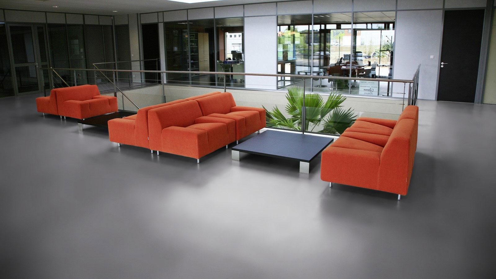 PVC vloer voor kantoren en kantoorinrichting