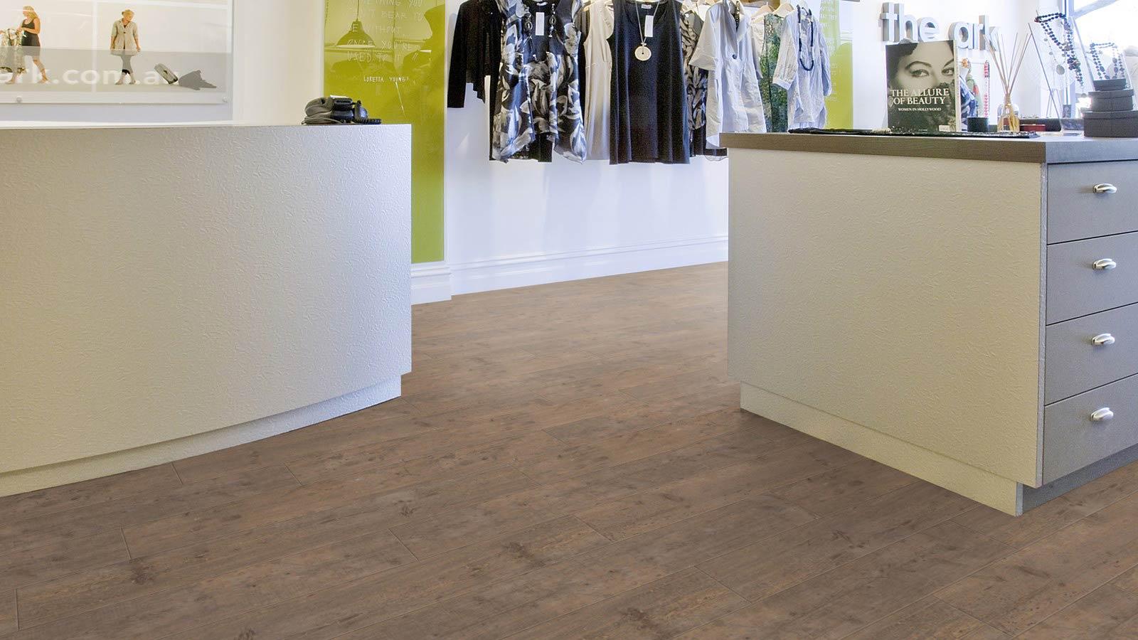 PVC vloer voor winkels in de detailhandel