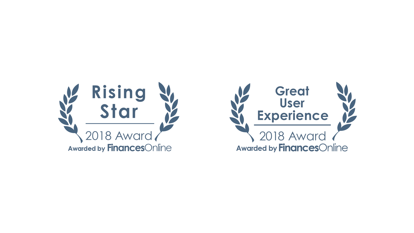Great User Experience Award for 2018 and the Rising Star Award for 2018