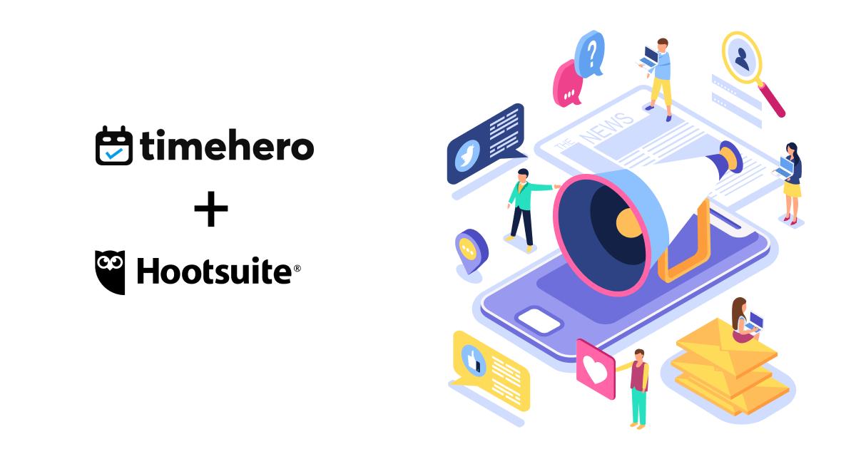 TImeHero and Hoosuite Zapier Integration