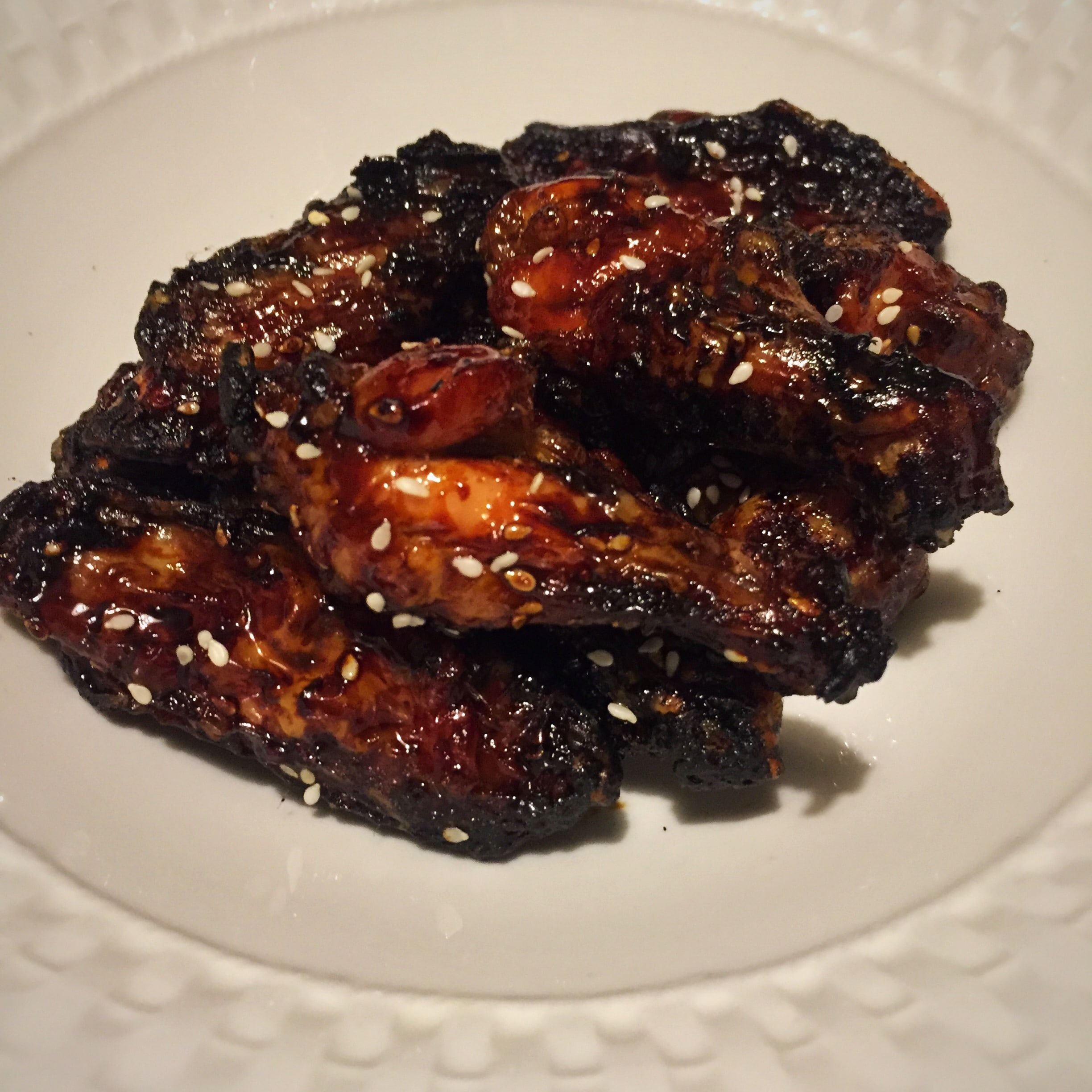 Oven Baked Asian Chicken Wings
