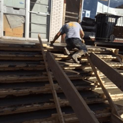 Remplacement d'escaliers