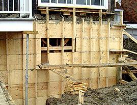Réparation de fondation