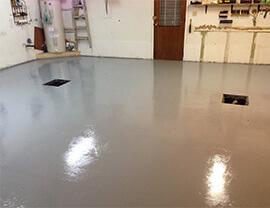 epoxy coating - epoxy garage floor coating, floor expoxy coating for concrete deck coatings Montreal Laval Longueuil Qc