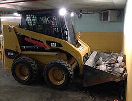 Réparation de structures et stationnement en béton