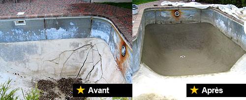 Swimming pool repair service contractor