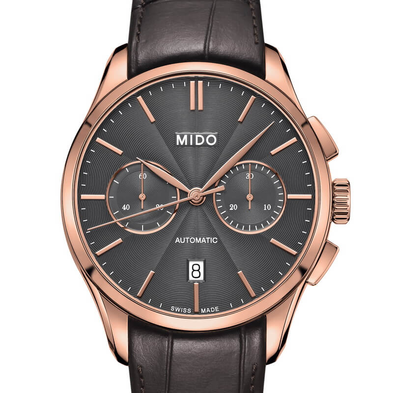 belluna chronograph 60 mido watch