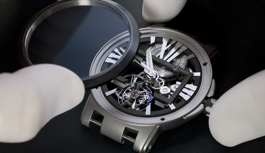 Ulysse Nardin ExecutiveSkeletonTourbillon