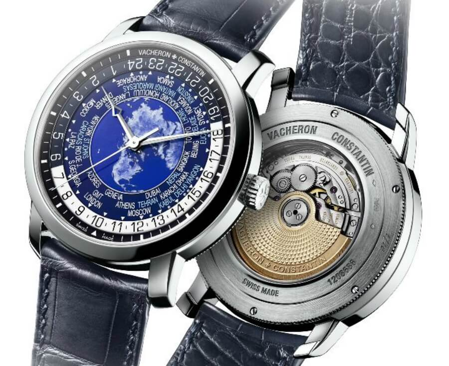 Vacheron Constantin Traditionnelle word time