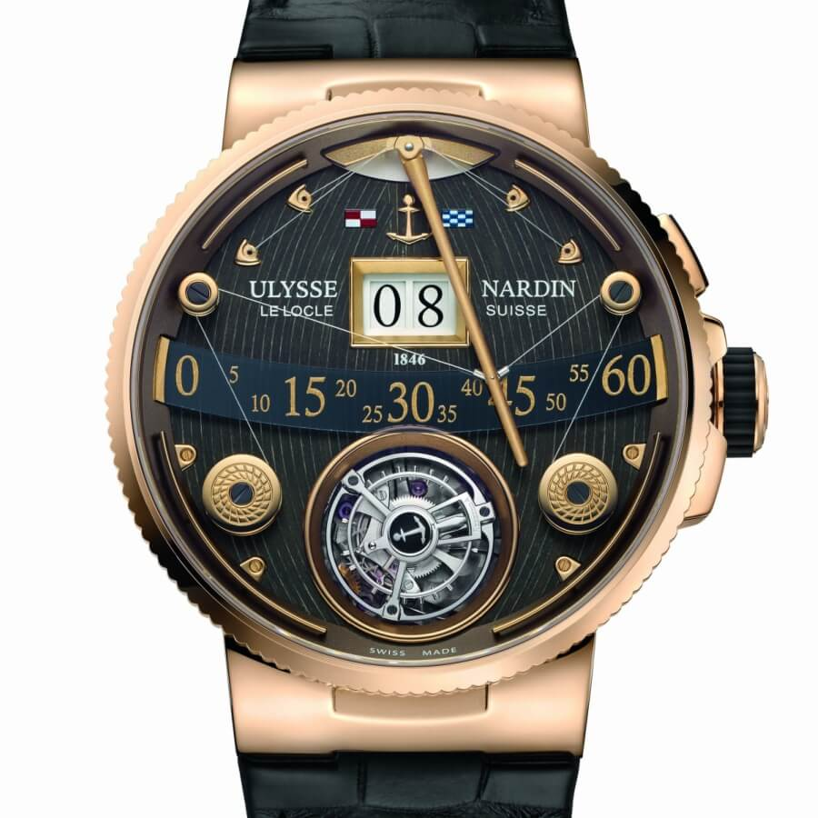 Ulysse nardin marine grand deck turbillon