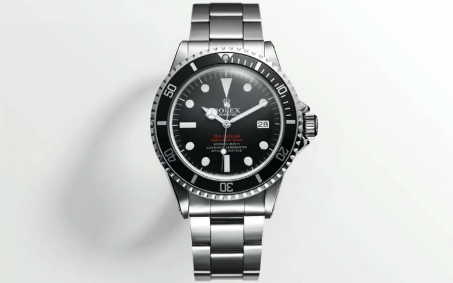 rolex  red sea dweller 1967