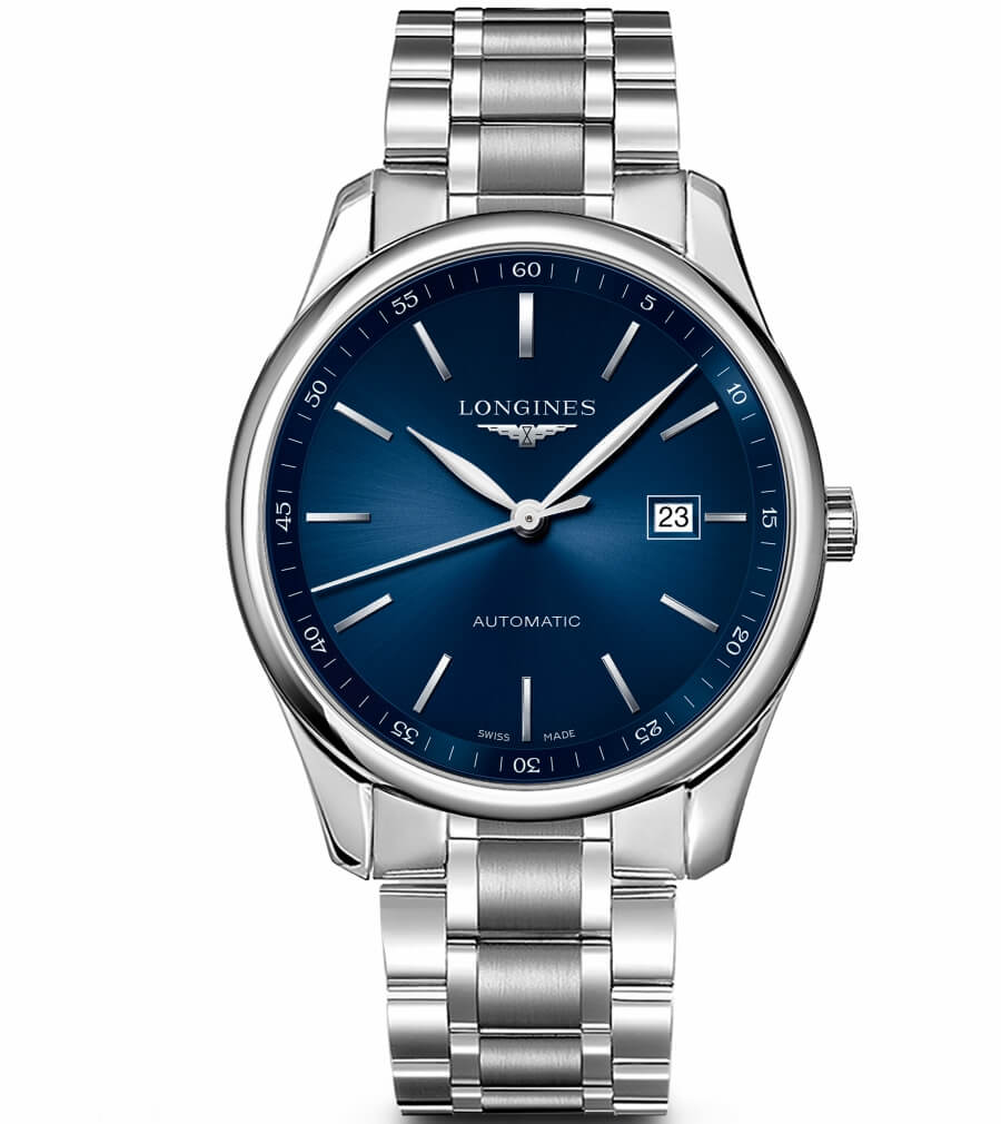 Longines Master Collection blue dial
